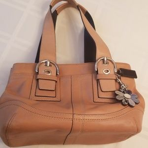 COACH - Tan Leather Satchel